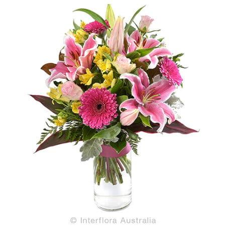 Opulent flower bouquet